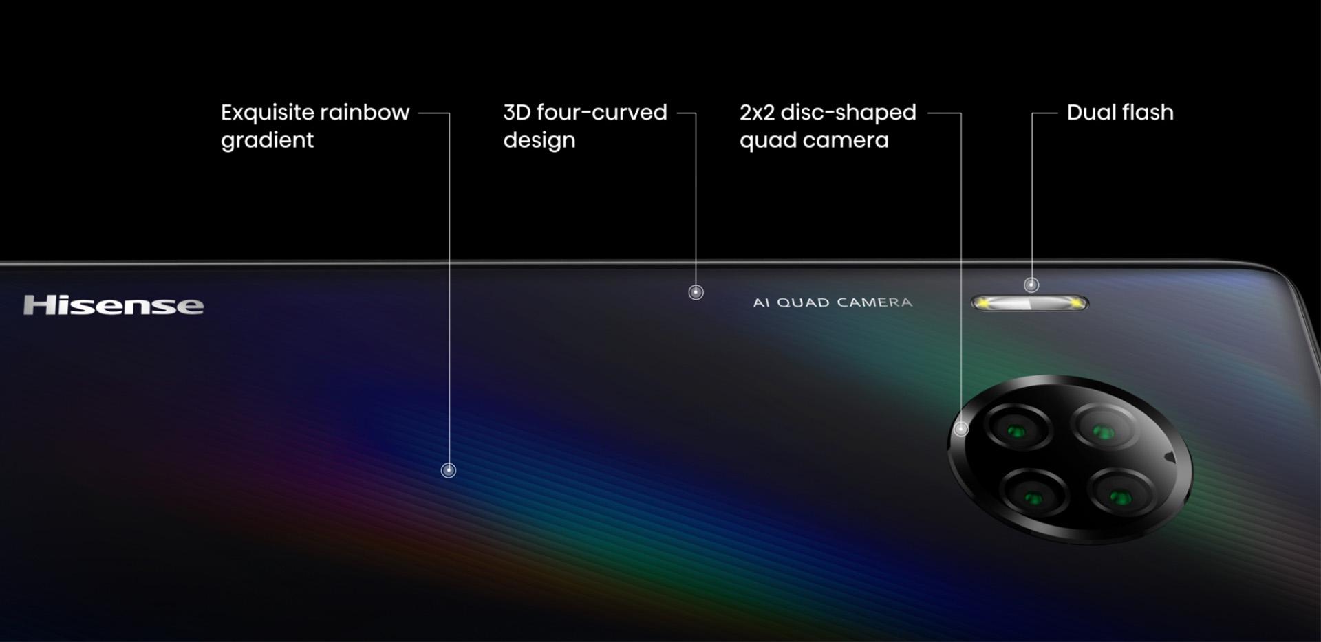 HISENSE INFINITY H50 ZOOM - THE DREAMLIKE LIGHT ART PIECE